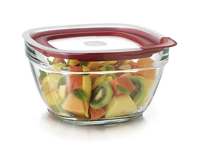 Glass With Easy Find Lids Rubbermaid