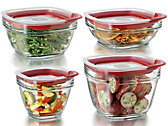 8-pc. Glass Container Set