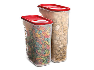 Modular Cereal Containers Rubbermaid
