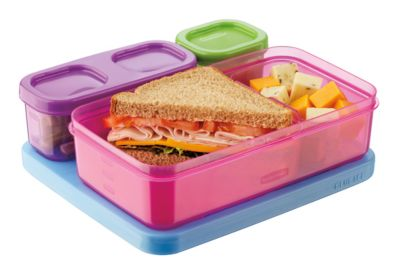 LunchBlox Kids for Flat Lunch Bags Rubbermaid