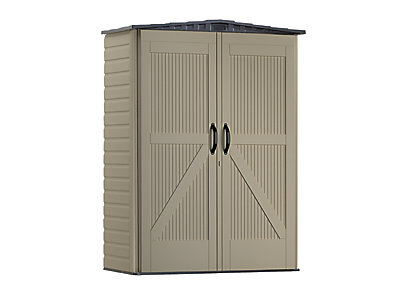 Roughneck 174 Small Vertical Shed Rubbermaid