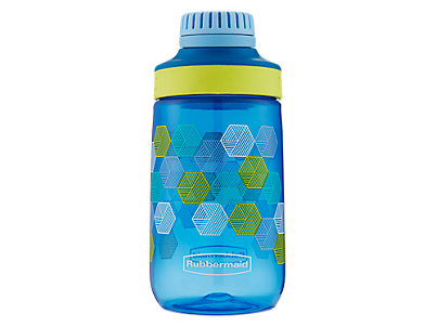 2000955_Rubbermaid_Chug_14oz_VarsityBlueFoldedHexagons_1