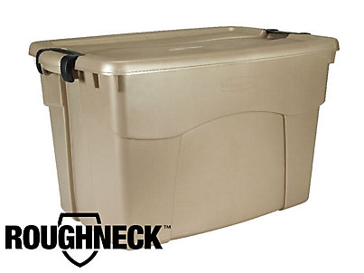 Roughneck Latching Storage Box Rubbermaid