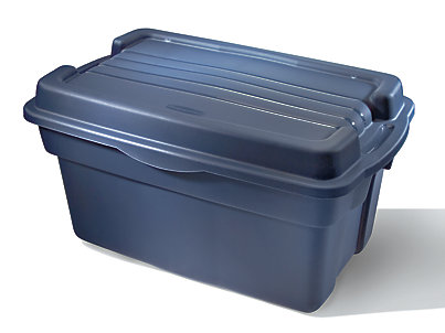 ... Roughneck Hi-Top Storage Box. 2461_Dark_Indigo_Metallic  sc 1 st  Rubbermaid : rubbermaid roughneck storage box  - Aquiesqueretaro.Com