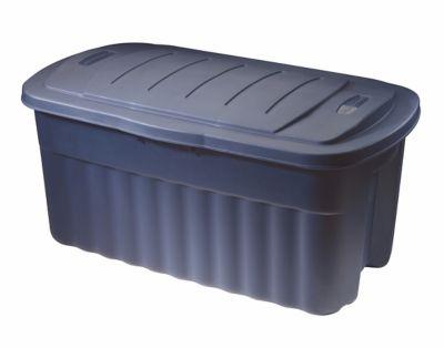 50 gallon rubbermaid storage container