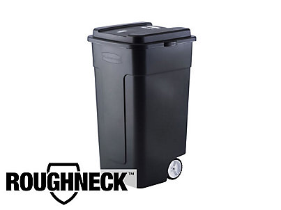 50 Gal Roughneck Wheeled Trash Can Rubbermaid