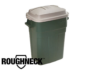 30 gal roughneck non wheeled trash can rubbermaid. Black Bedroom Furniture Sets. Home Design Ideas