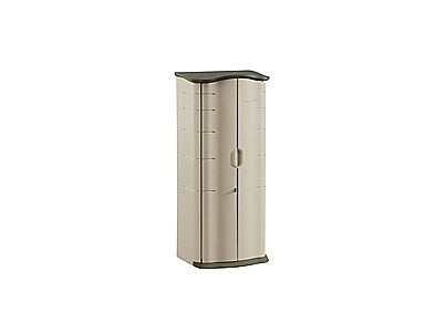 vertical storage shed rubbermaid rh rubbermaid com Outdoor Storage Outdoor Sheds