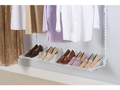 Rubbermaid Closet Shoe Shelves Roselawnlutheran