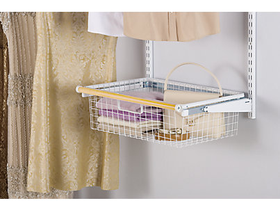 Sliding Wire Basket Rubbermaid