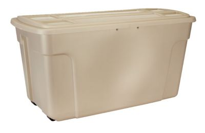 Duratote Wheeled Storage Box 50 Gal DISCONTINUED Rubbermaid