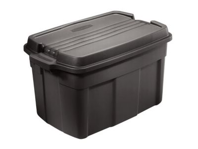 37 Gal Recycled Storage Box DISCONTINUED Rubbermaid