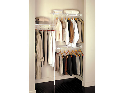3 5 Foot Closet Kit | Rubbermaid