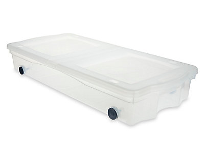 Home\; Wheeled Underbed Box. 5334_Slimfit_Wheeled_Box  sc 1 st  Rubbermaid & Wheeled Underbed Box | Rubbermaid