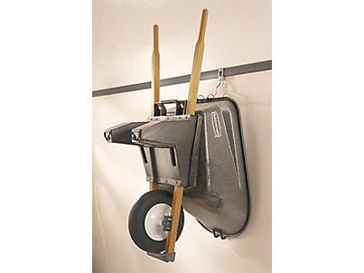 Wheelbarrow Rack Discontinued Rubbermaid