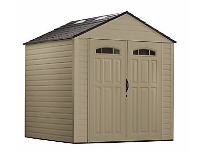 Garden Sheds 7x7 roughneck® x-large storage shed - 7ft x 7ft- discontinued | rubbermaid