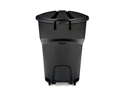 32 Gallon Roughneck Wheeled Refuse Trash Can Rubbermaid
