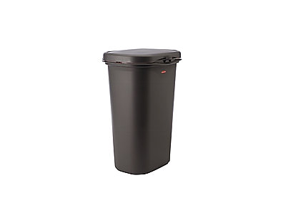 Spring Top Waste Cans With Linerlock Rubbermaid