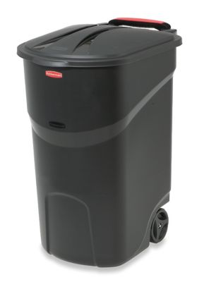 45 Gallon Roughneck Wheeled Trash Can Rubbermaid