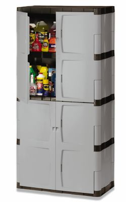 Full Double Door Cabinet Rubbermaid
