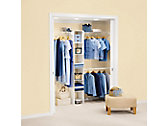 Direct Mount Non-Adjustable Closet