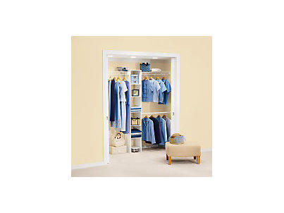 58 ft closet kit with laminate tower