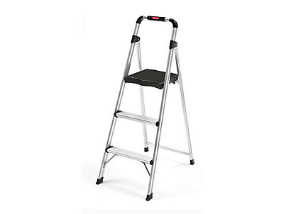3-Step UltraLight Aluminum Step Stool  sc 1 st  Rubbermaid : aluminum step stools - islam-shia.org