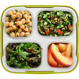 Chickpeas and Tabouleh