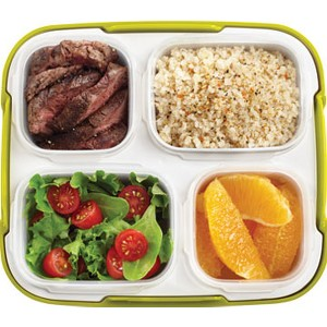 Sesame Ginger Steak with Quinoa and Mixed Greens