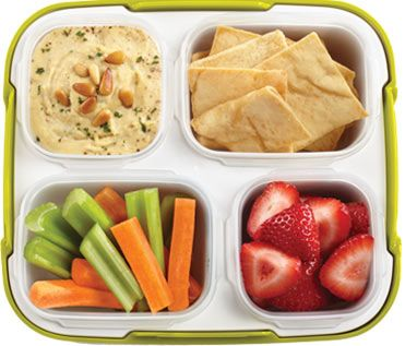 Herbed Hummus Dipping Box