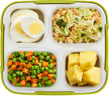 """Vegetable """"Fried"""" Rice Box"""