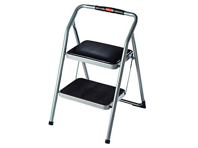 2-Step Rubbermaid Padded Seat Step Stool - DISCONTINUED  sc 1 st  Rubbermaid & 2-Step Rubbermaid Padded Seat Step Stool - DISCONTINUED | Rubbermaid islam-shia.org