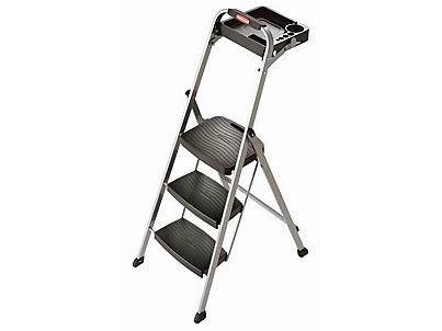 3 Step Ladder Designer Series Slim 3step Ladder In Teal