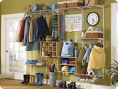 Customizing Closets Rubbermaid