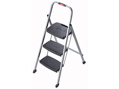 Incredible 3 Step Steel Stool Rubbermaid Caraccident5 Cool Chair Designs And Ideas Caraccident5Info
