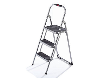 Stupendous 3 Step Highback Step Stool Rubbermaid Machost Co Dining Chair Design Ideas Machostcouk